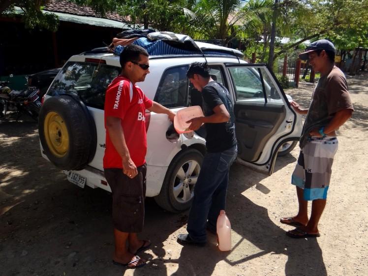 Posto de Combustível em Popoyo