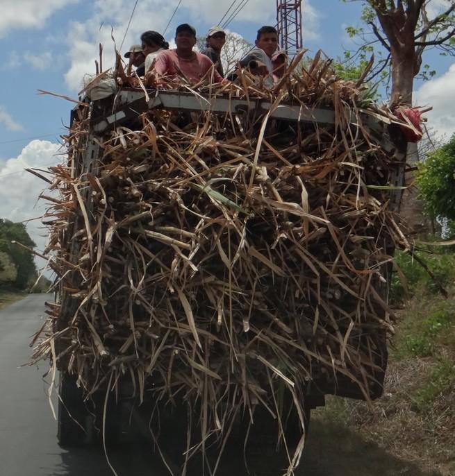Outra modalidade de transporte coletivo na Nicarágua