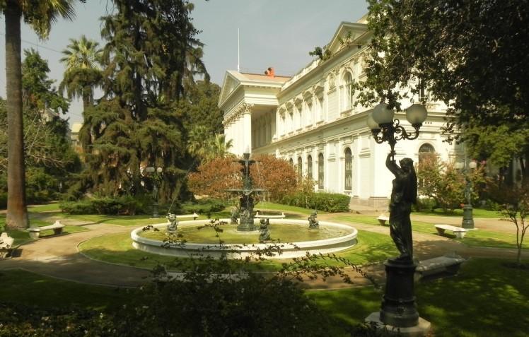 Antigo Congresso Nacional, que funcionou neste edifício até o golpe militar de 1973
