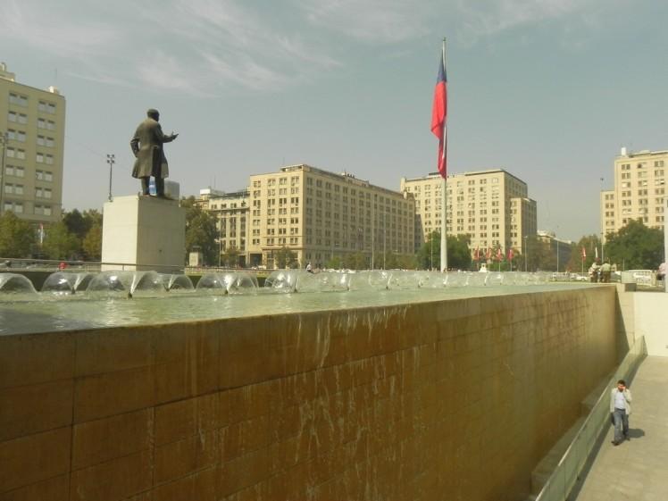 Palacio La Moneda - lado oposto
