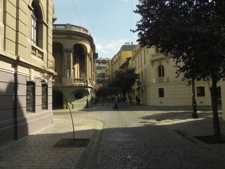 Barrio Paris-Londres, um pedaço da Europa no meio de Santiago