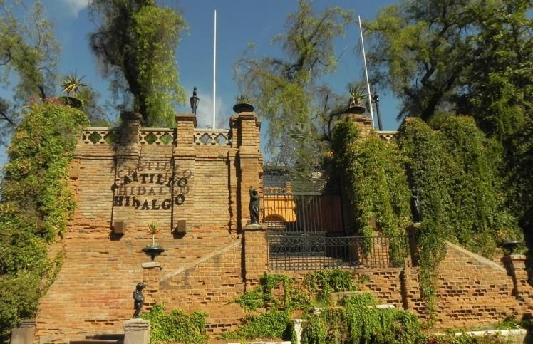 Cerro Santa Lucia- Castillo Hidalgo