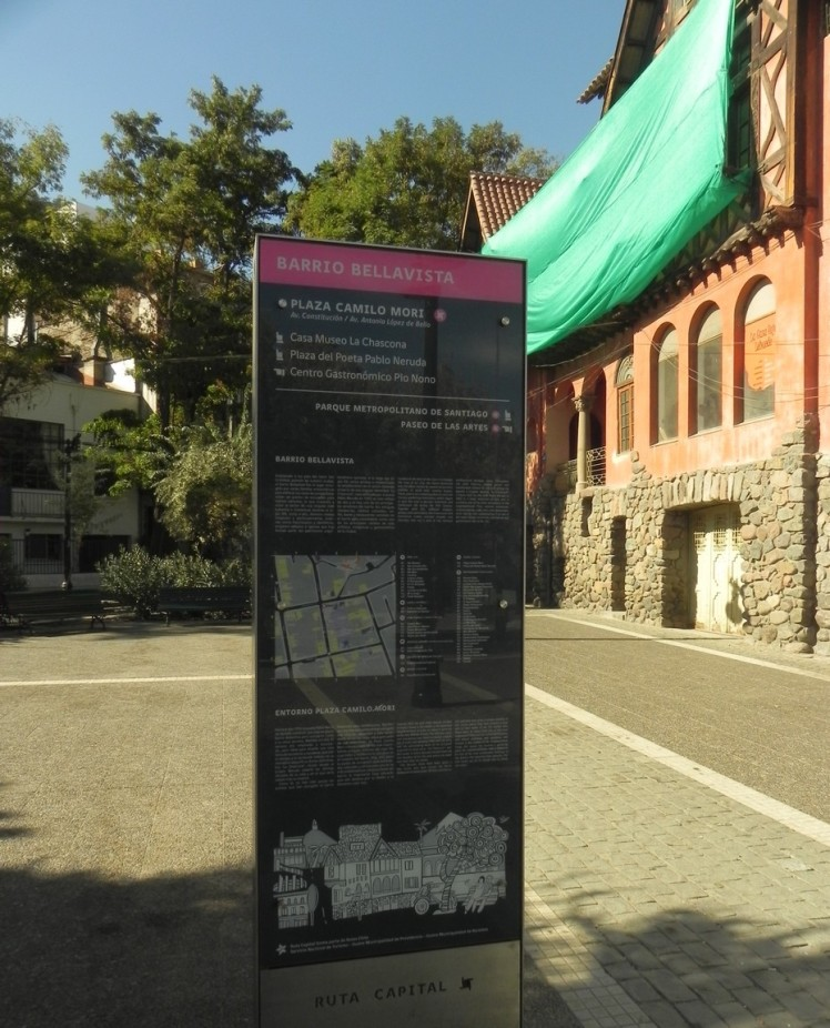 Barrio Bellavista - o bairro boêmio de Santiago
