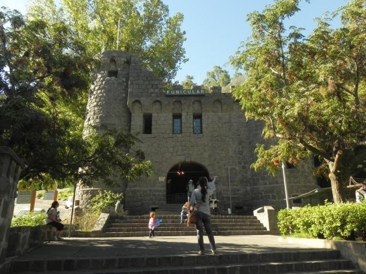 Funicular do Cerro San Cristóbal