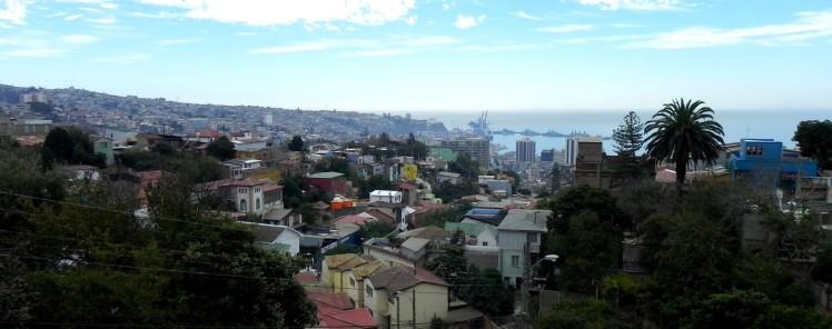 Terraza da La Sebastiana. Valparaiso