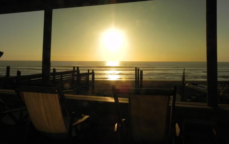 Por-do-Sol no Pacífico, que beleza !