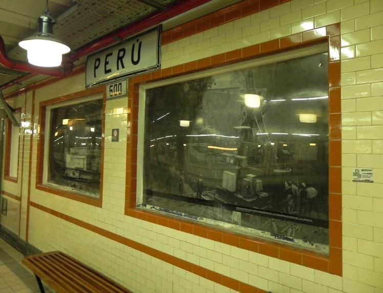 Estação Peru de Subte (Metro)