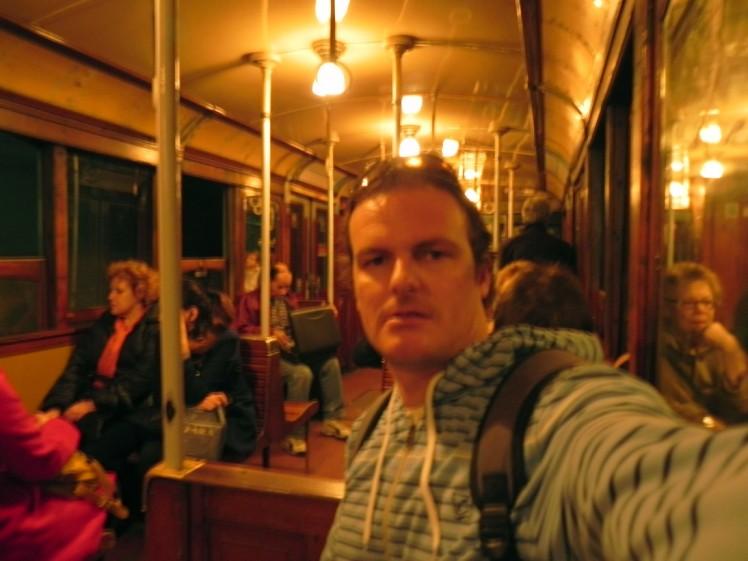Trens de madeira da linea A