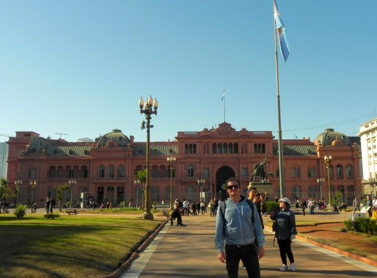 Plaza de Mayo - Casa Rosada ao fundo