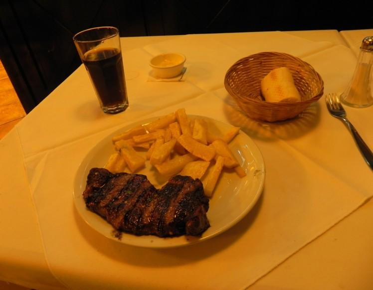Bife de Chorizo - Parrilla El Gaucho