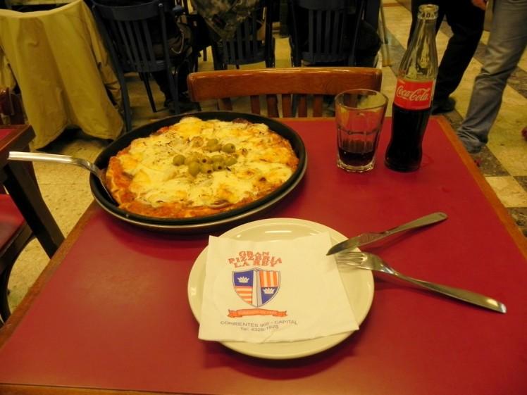 Pizzeria La Rey - Pizza maravilhosa !