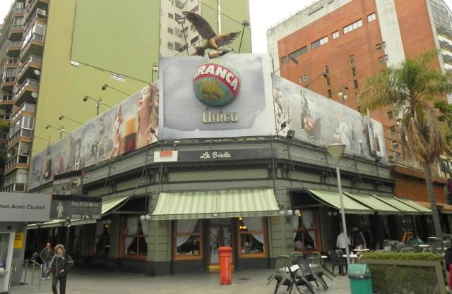 Café La Biela - Ponto de encontro de jornalistas e intelectuais argentinos