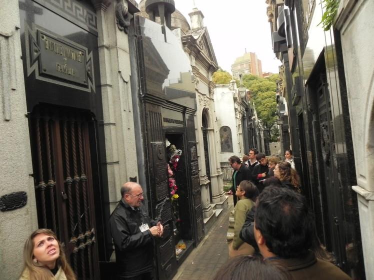 Cementerio da Recoleta -  Túmulo da Evita Perón