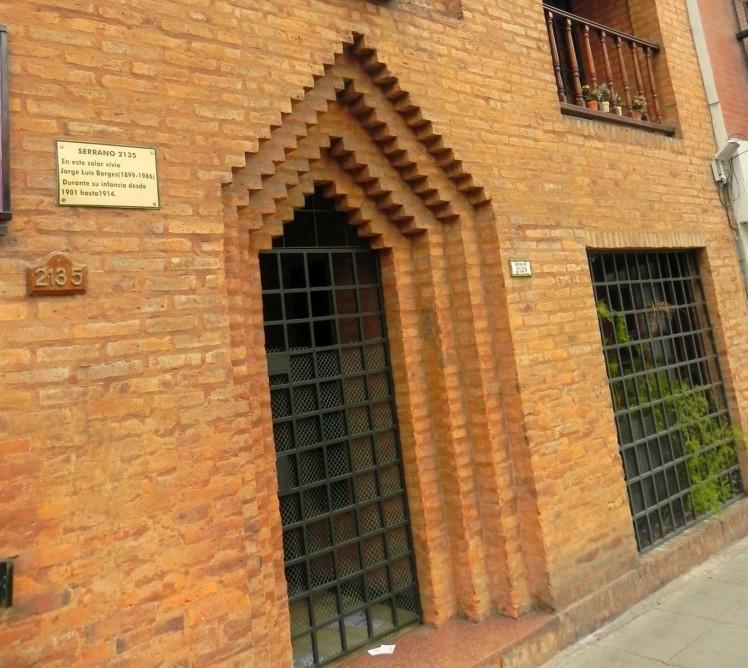 Casa onde viveu Jorge Luis Borges