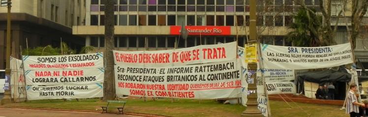 Plaza de Mayo - Local de manifestações dos argentinos