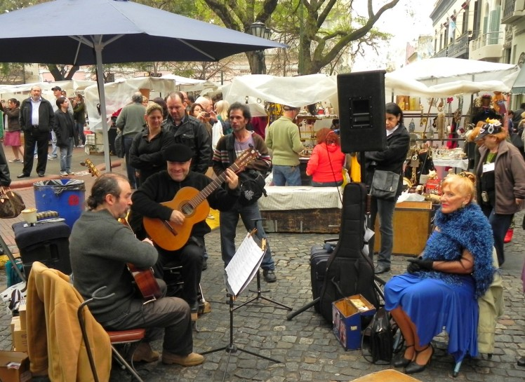 San Telmo - Tango na Plaza Dorrego