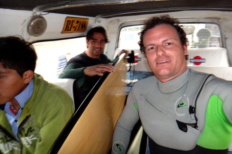 Van para Punta Rocas