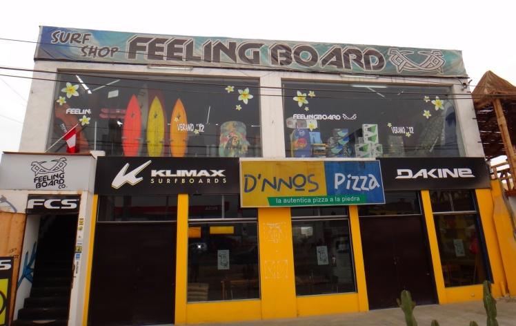 Surf-Shop em El Silencio