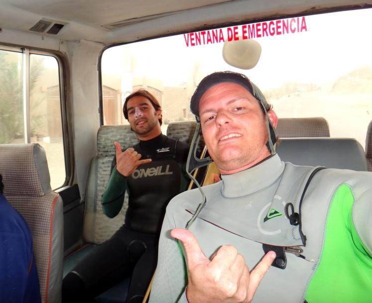 Busum para Punta Rocas