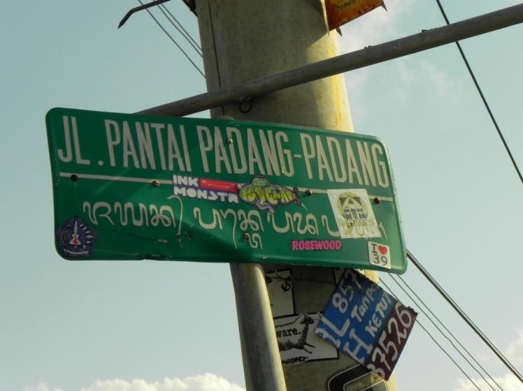 Meu endereço em Bali