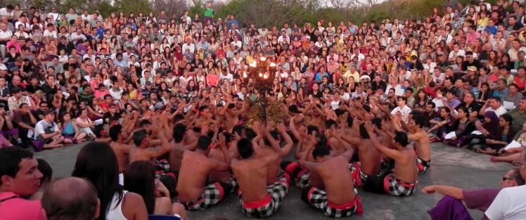Uluwatu Temple - Kecak Dance