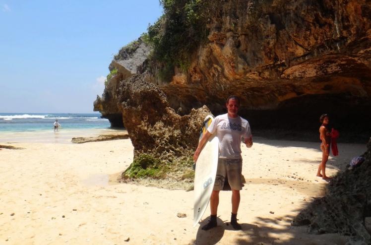 ASCC (Associação dos Surfistas de Capão da Canoa) em Uluwatu
