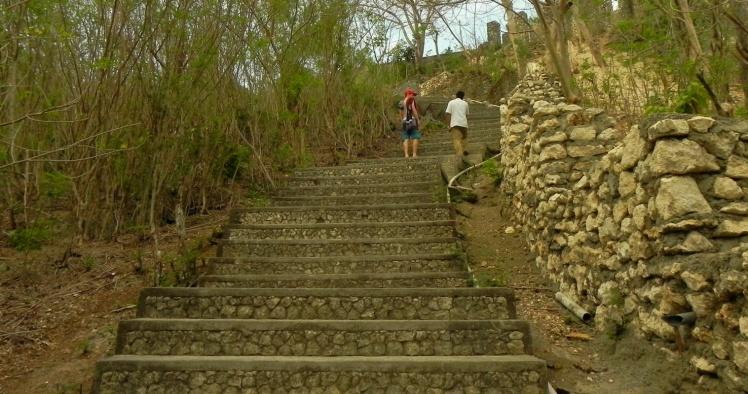 Escadaria de Uluwatu