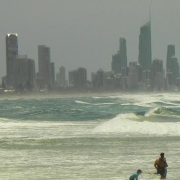Surfers Paradise vista de Burleigh Heads