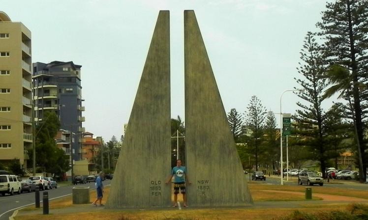 Queensland de um lado - New South Wales de outro