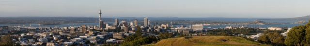 Panorâmica de Auckland