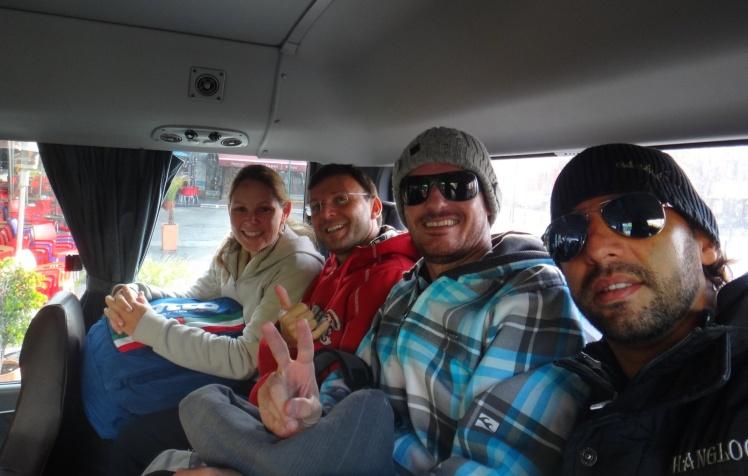 Bus para o Cotopaxi