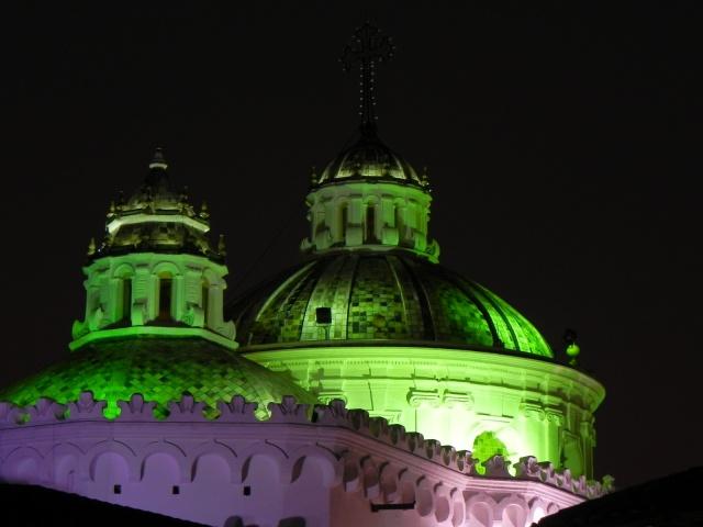 Cúpulas da Cathedral de Quito