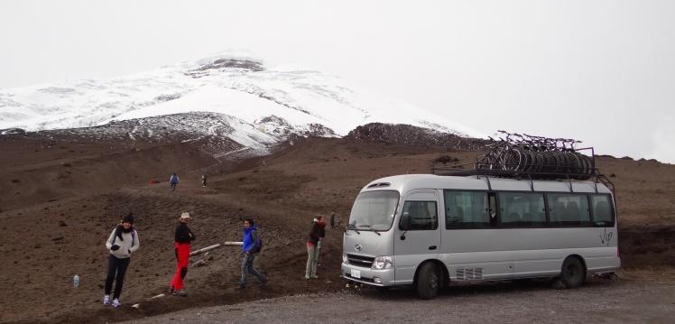 Parqueadero Vulcão Cotopaxi