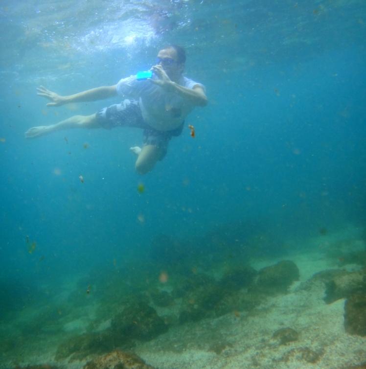 Mergulho em La Loberia