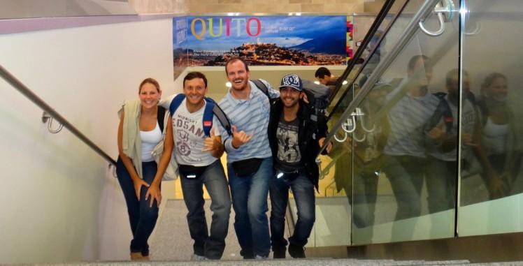 Desembarque em Quito