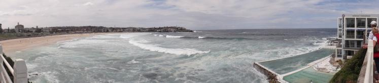 Panorâmica de Bondi Beach