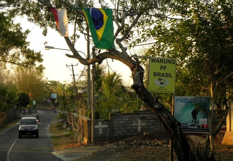 Prato-Feito Brasileiro em Paddang-Paddang
