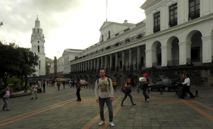 Palácio Presidencial - Centro Histórico de Quito