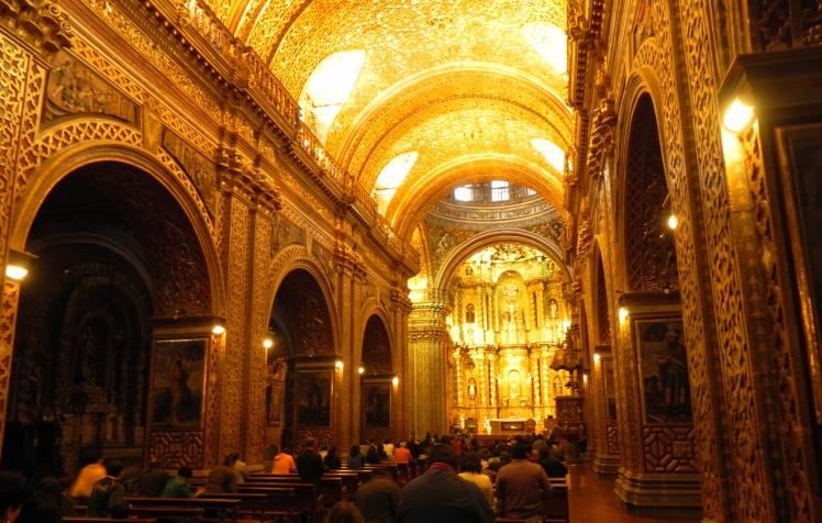 Iglesia de La Compañía de Jesús - Centro Histórico de Quito