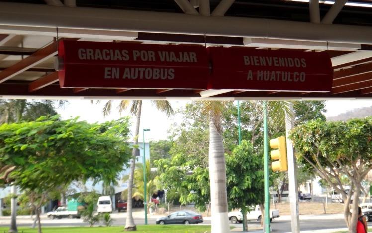 Estación de Autobuses em Huatulco