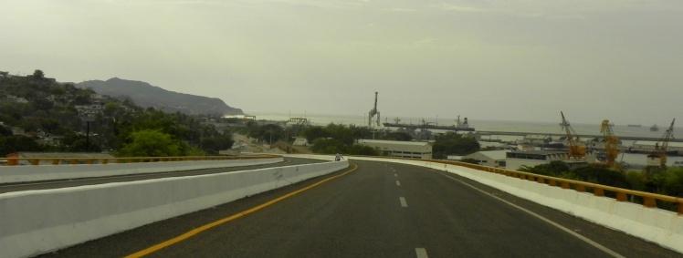 Chegada em Salina Cruz