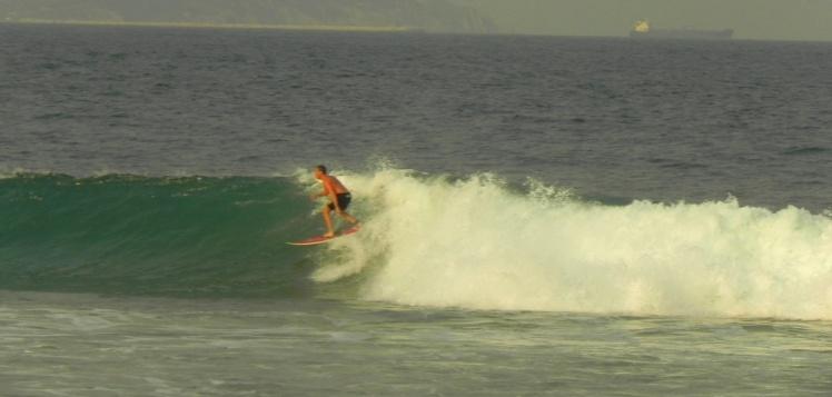 Luis Claudio em Punta Chivo
