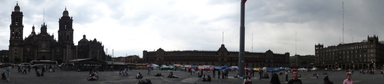 Panorâmica do Zócalo