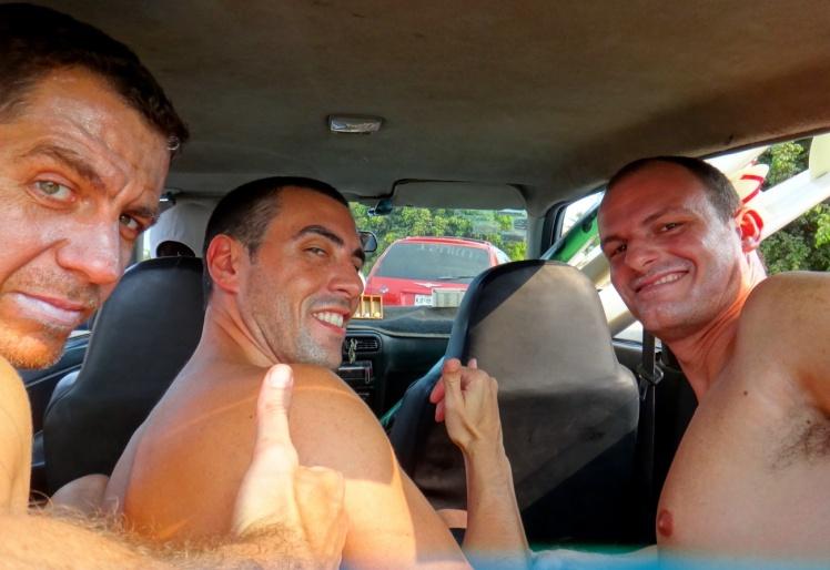 No táxi para La Punta - Puerto Escondido