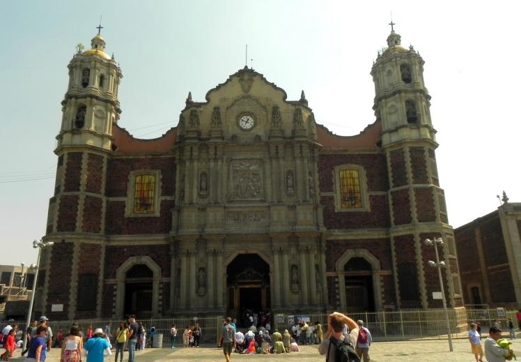 Basílica de Guadalupe - Igreja antiga