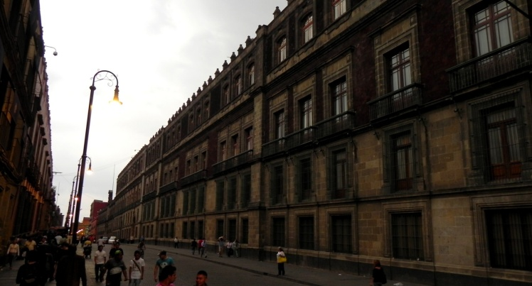 Lateral do Palácio Nacional