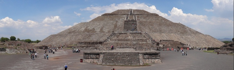 Teotihuacán - Pirâmide do Sol