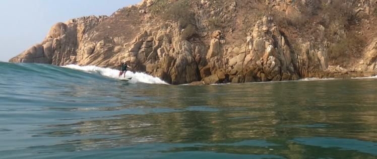 Tiburón em Barra De la Cruz