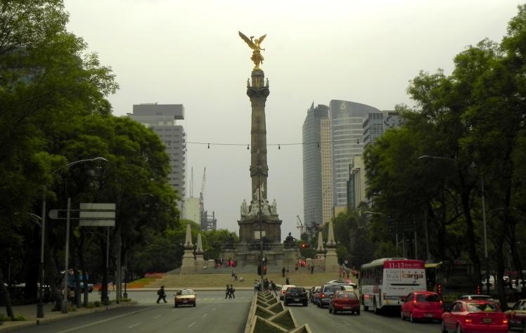 Paseo de la Reforma - Ángel de la Independencia