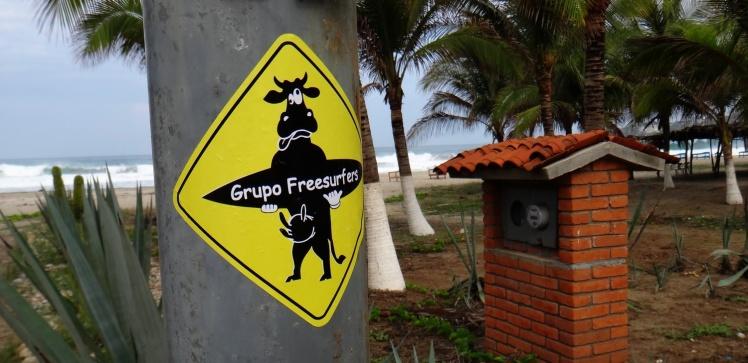 Freesurfers em Puerto Escondido